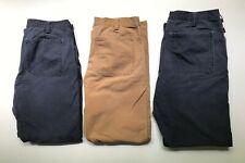 3 Pair Arborwear Original Tree Climbers Pants 38 x 34 Workwear Navy Chestnut
