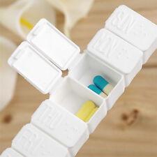 7 Days Tablet Pill Box Holder Weekly Medicine Storage Organizer Container Case