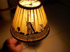 VINTAGE DELFTS NINI ELECTRIC LAMP WITH SHADE