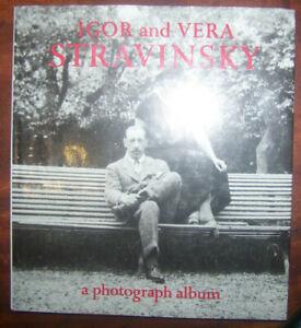 ( HB/DJ) Robert Craft; Igor And Vera Stravinsky: A photograph album 1921-1971
