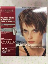 L'Oreal Couleur Experte Express Hair Color #5 Medium Brown - Caramel Glaze NEW
