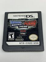 WWE Smackdown vs Raw 2010 (Nintendo DS, 2009) Authentic Game - Tested And Works!