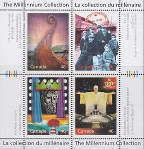 CANADA 2000 Millennium collection #1827 – 10 Canada's Cultural Fabric