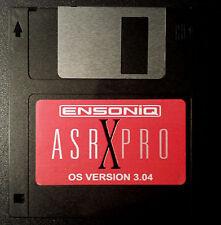 Ensoniq ASR X Pro Operating System Disk V 3.04 O.S. boot -Fast Shipping ((BEST))