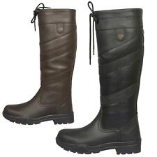 Joy Rider Horse Riding Yard Stable Walking Water Resistant Leather Country Boots