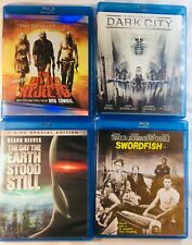 5 Blu-ray Movies: Swordfish, Dark City, Devils Rejects, The Day the Earth Stood