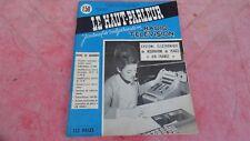 le Haut parleur journal de vulgarisation radio télévision n°1088 juin 1965
