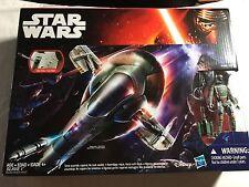Star Wars Force Awakens Slave 1 New Sealed w/ Boba Fett