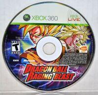 Dragon Ball: Raging Blast (Microsoft Xbox 360, 2009) Video Game RARE