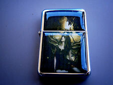 GOTHIC GOTH FAIRY WINGS FOREST GIRL STAR CIGARETTE LIGHTER & EXTRA ZIPPO FLINTS