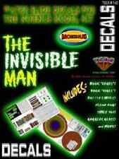 TSDS 107 1/8 Invisible Man Water Slide Decal Set for MOEBIUS Model Kit FREE SHIP