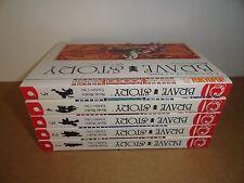 Brave Story vol. 1-5 by Miyuki Miyabe Manga Graphic Novel Book Lot in English