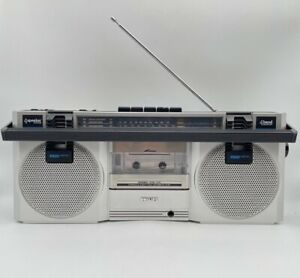 Philips Compact Line D 8118, Ghetto Blaster Radio FM Kassettenrekorder 80er