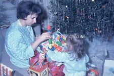 Opening Christmas Toys 1966, Mattel Jack in the Box Vintage Color Slide