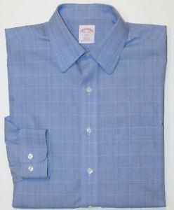 BROOKS BROTHERS Dress Shirt | Mens 15.5 - 34/5 Regular Fit Non-Iron Cotton