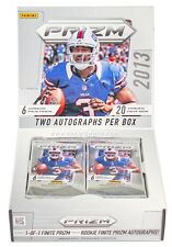1 (ONE) NEW sealed 2013 Panini Prizm football hobby pack from box - 6 cards