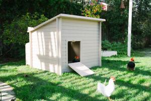 Jumbo Large Plastic Chicken Coop