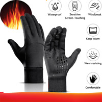 Warm Winter Gloves Motorcycle Scooter Gloves Sports Waterproof Toccare Schermo