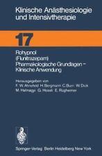 Klinische anästhesiologie und Intensivtherapie: Rohypnol (Flunitrazepam),...