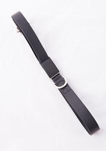 DIESEL BLACK GOLD Men's Belt Size 95 100% Leather