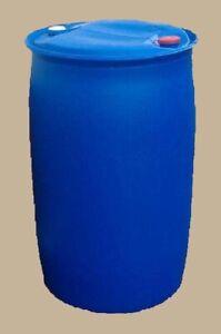Spundfass Fass 220 L Deckelfass Wassertonne Regentonne Futtertonne Gebraucht