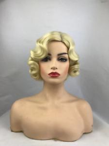 Women's Wig Ladies Wig Short Finger Wave Ladies Daily Hair Wigs+Wig Cap