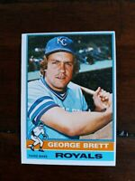 GEORGE BRETT-1976 TOPPS 2ND YEAR CARD VG-EXC.CONDITION