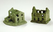 6mm Battle Damaged casas-Conjunto de 6 Modelos