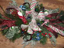 "36"" x 24"" Silk Grave Blanket Christmas Tree Ornaments Cascading Decorations"