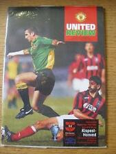 29/09/1993 Manchester United v Kispest Honved [European Cup] . No obvious faults