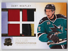 09-10 The Cup DANY HEATLEY Quad Patch Foundations #d 10