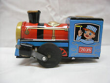 Vintage Dream Land Tin Wind Up Locomotive 7035 Made in Japan by Tt