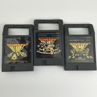 Lot of 3 Magnavox Odyssey 2 Cartridges - Pick Axe Pete Speedway Alien Invaders