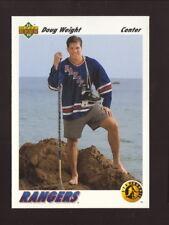 Doug Weight Rookie Card--1991-92 Upper Deck Hockey--New York Rangers