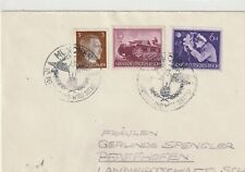 Germany Reich 1941 COVER MUNICH USED MILITARY NAVY TANK POSTAL HISTORY