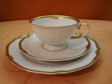 """K&A Krautheim - Selb Franconia """"Jewel"""" Goldband 3 tlg. Kaffeegedeck"""