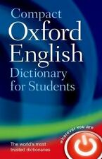 Compact Oxford English Dictionary: For University and College Students by Oxfor