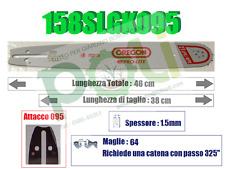 BARRA OREGON PRO-LITE 158SLGK095 38CM PASSO .325 x SPESSORE 1,5mm x 64 MAGLIE