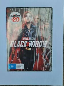 Black Widow (Dvd,2021) *NEW* Region 4