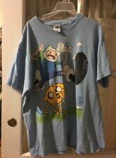 Adventure Time T-Shirt Finn Jake Cartoon Network SIZE LARGE UNISEX