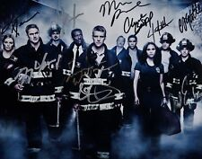 "Chicago Fire Cast 8x10 Signed Autograph Reprint ""Mint"" {FREE SHIPPING}"