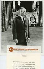 JAMES MASON PORTRAIT HALL OF KINGS ORIGINAL 1967 ABC TV PHOTO