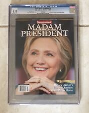 Newsweek Madam President Hillary Clinton / Donald Trump CGC 9.8 Near Mint/Mint
