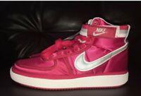 Nike Vandal High Supreme QS Univ. Red Basketball Shoes Mens Size 9.5 AH8652-600