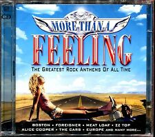 MORE THAN A FEELING GREATEST ROCK ANTHEMS - 2 CD COMPILATION NEUF ET SOUS CELLO