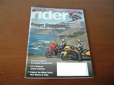 Rider Motorcycle Magazine May 2014 40TH Anniversary Edition Ducati Monster 1200S
