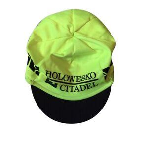 New 2018 Men's Hincapie Racing Team Max Mesh Cycling Cap, Neon Yellow, One Size