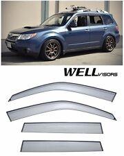 For 09-13 Subaru Forestor WellVisors Side Window Visors Premium Series