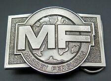 Mf Massey Ferguson Tractors Agriculture Farm Equipment Vintage Belt Buckle