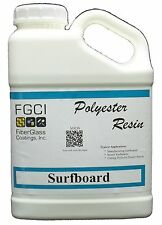 FGCI Polyester Clear Surfboard Resin - Wax Free, 1 Gallon 128834